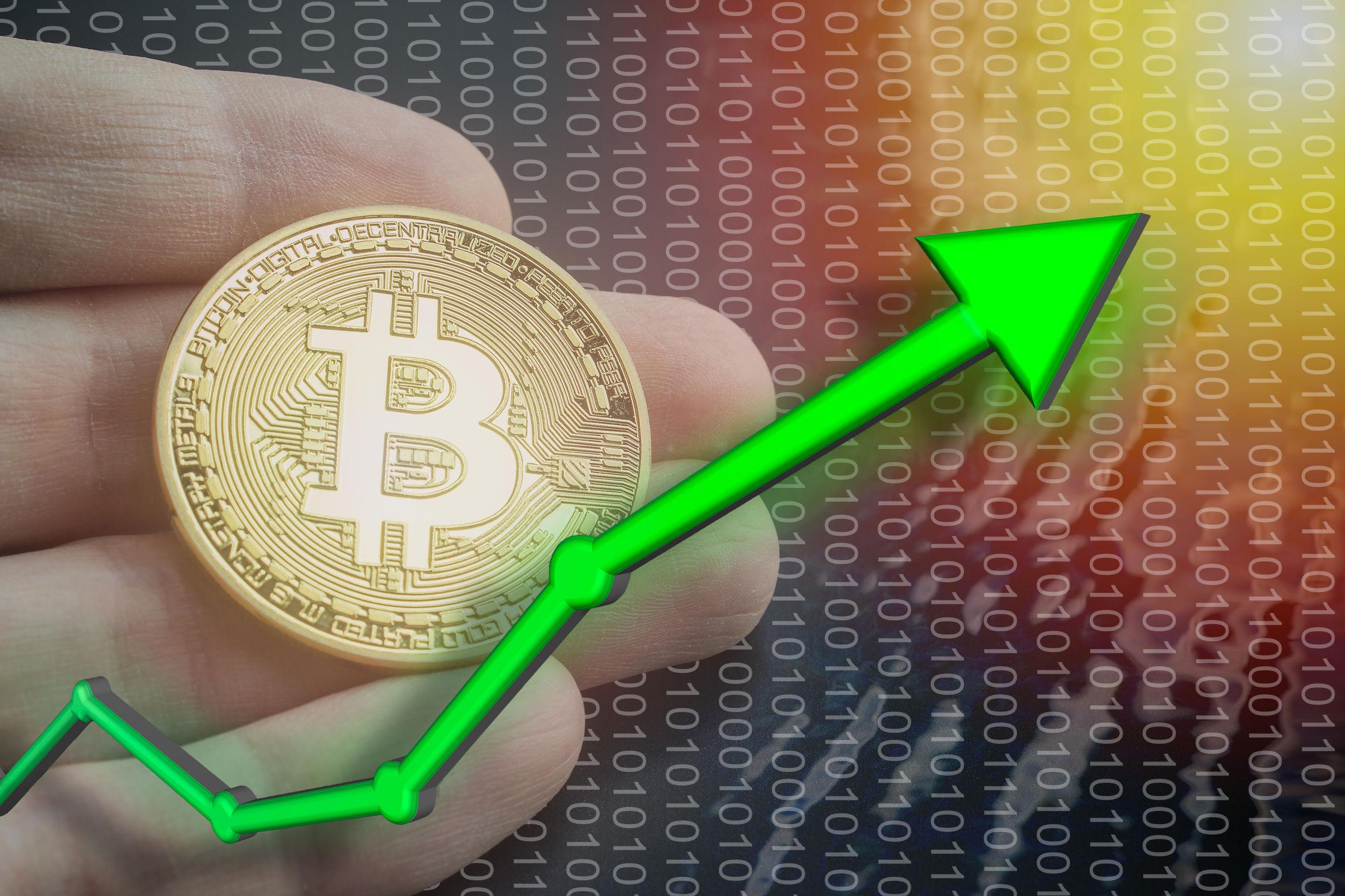 Bitcoin'den Ani Yükseliş